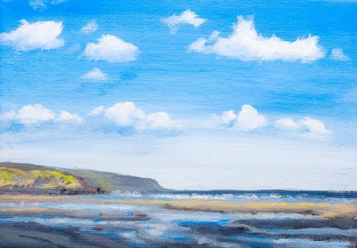 East From Amroth – Colour Study