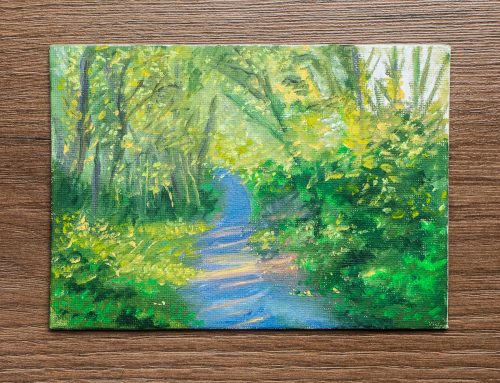 Spring on the Line – Colour Study